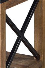 X Metal Cross Stretcher