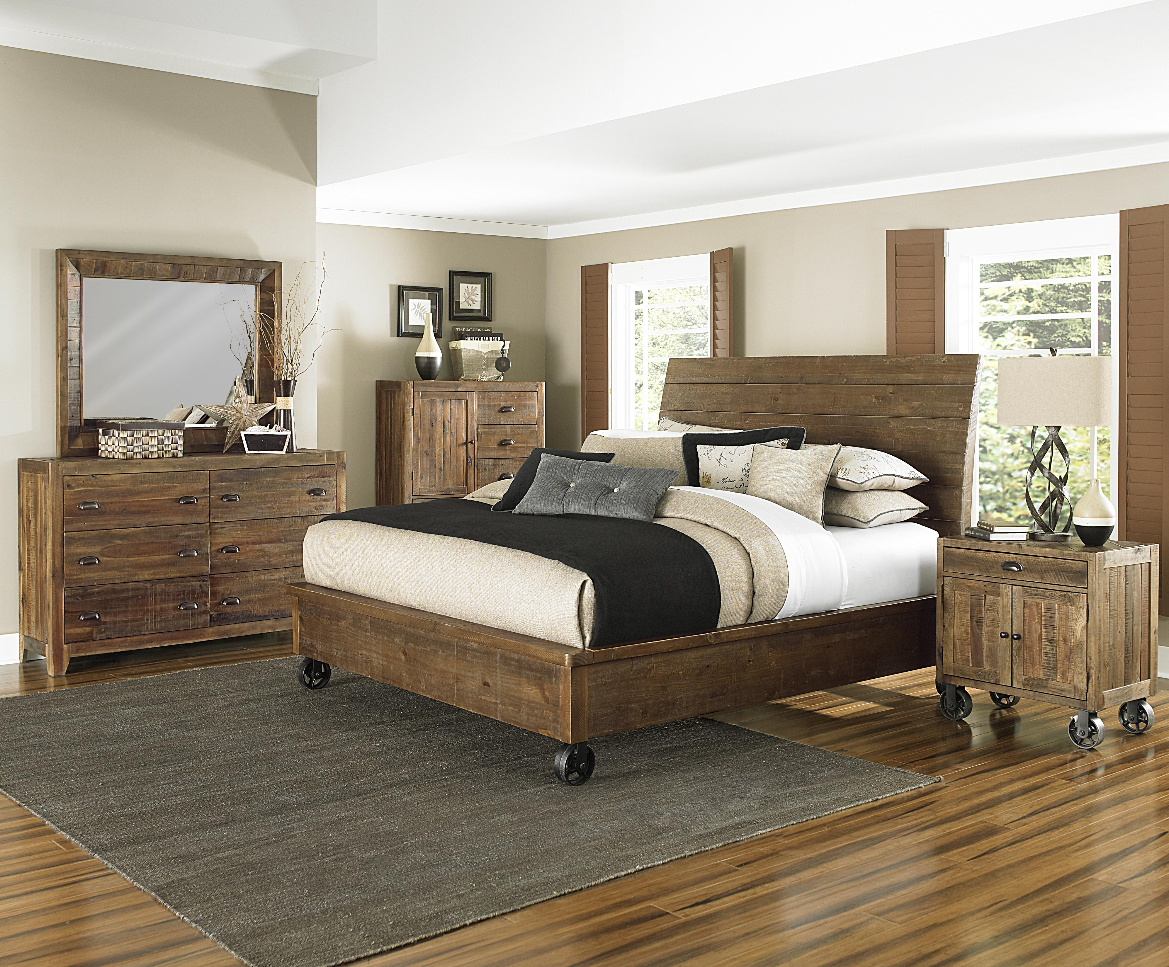 Magnussen Home  River Ridge King Bedroom Group - Item Number: B2375 K Bedroom Group 2