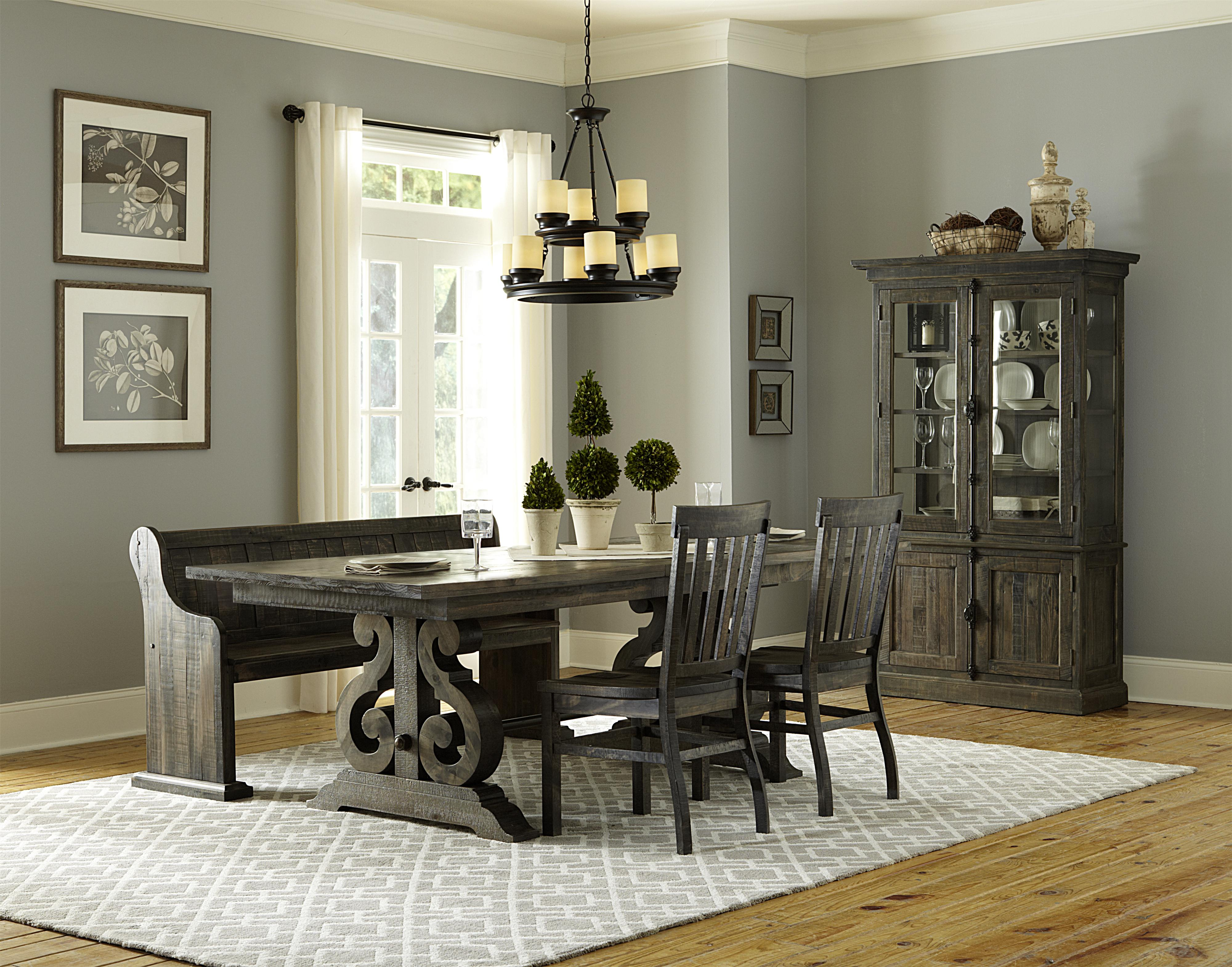 Magnussen Home Bellamy Formal Dining Room Group - Item Number: D2491 Formal Dining Room Group 2
