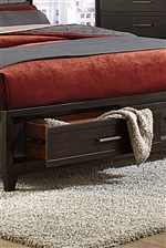 Dual Underbed Storage Drawers Available