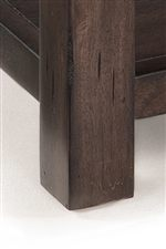 Block Legs Used in Collection For Contemporary Feel