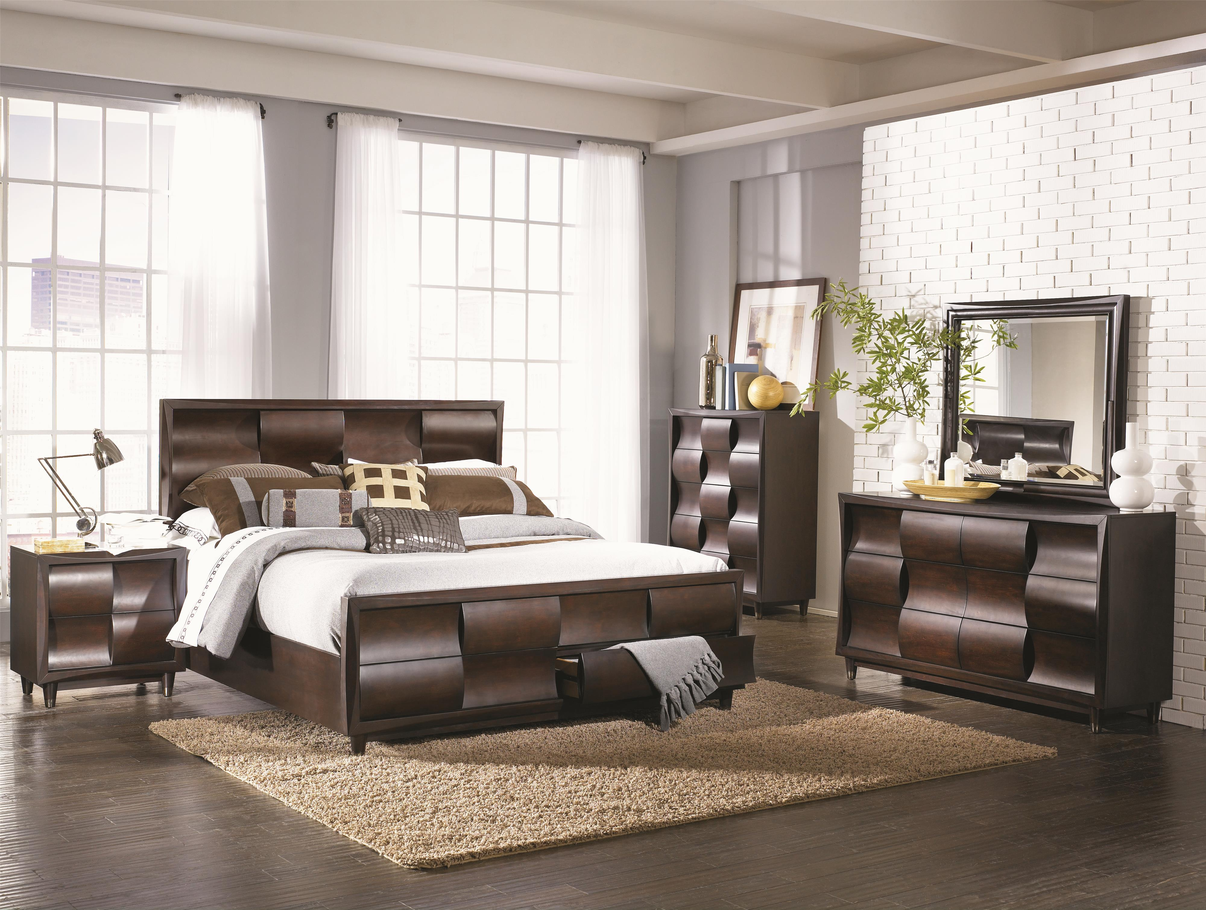 Magnussen Home Fuqua Queen Bedroom Group - Item Number: B1794 Q Bedroom Group 2