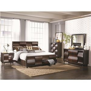 Morris Home Furnishings Fairfield King Bedroom Group