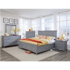 Magnussen Home Mason 5PC King Bedroom Set