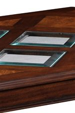Glass Tabletop Inlay