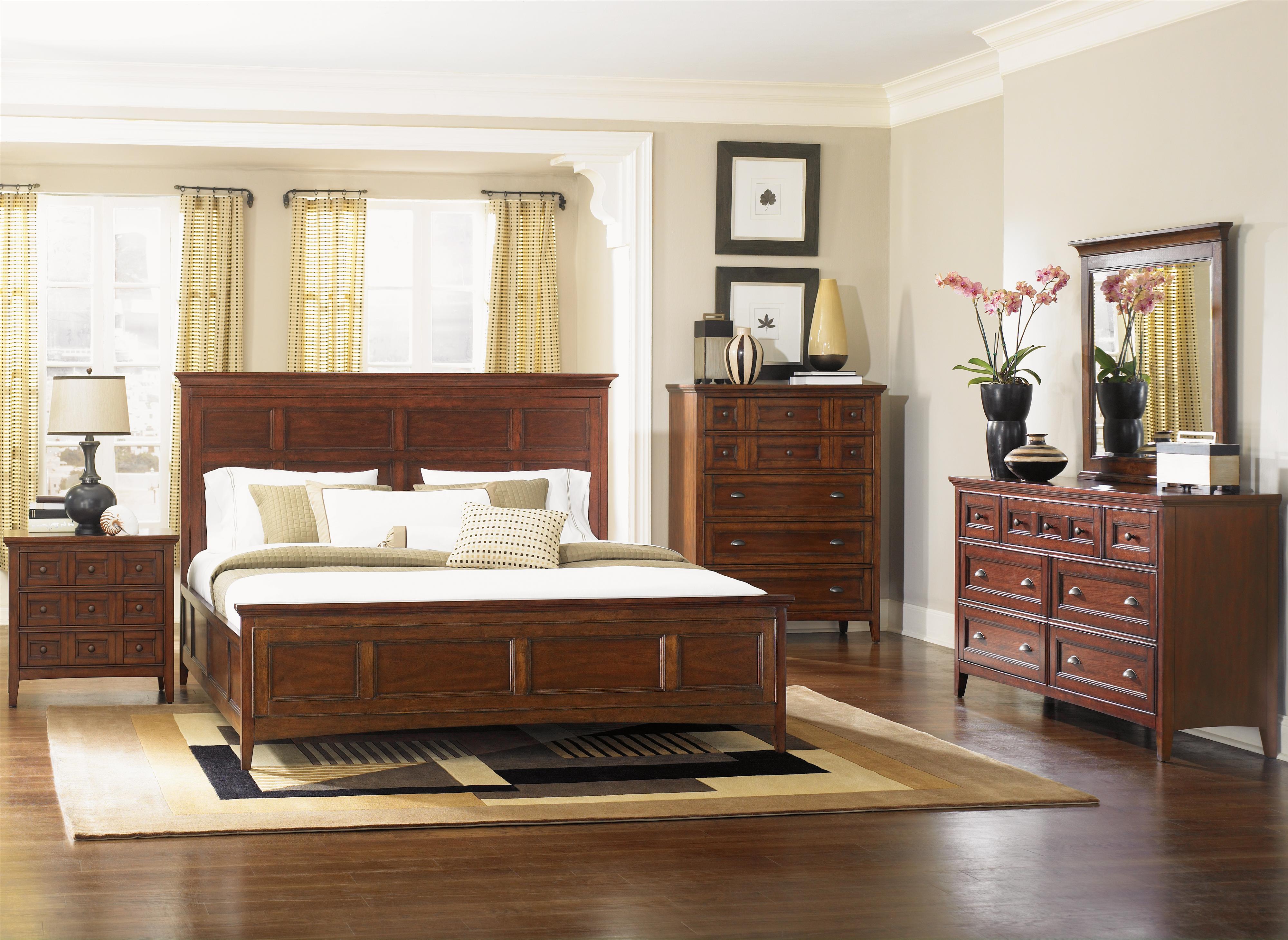 Magnussen Home Harrison Queen Bedroom Group - Item Number: B1398 Q Bedroom Group 1
