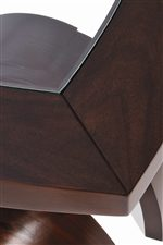 Beveled Glass Top Inserts