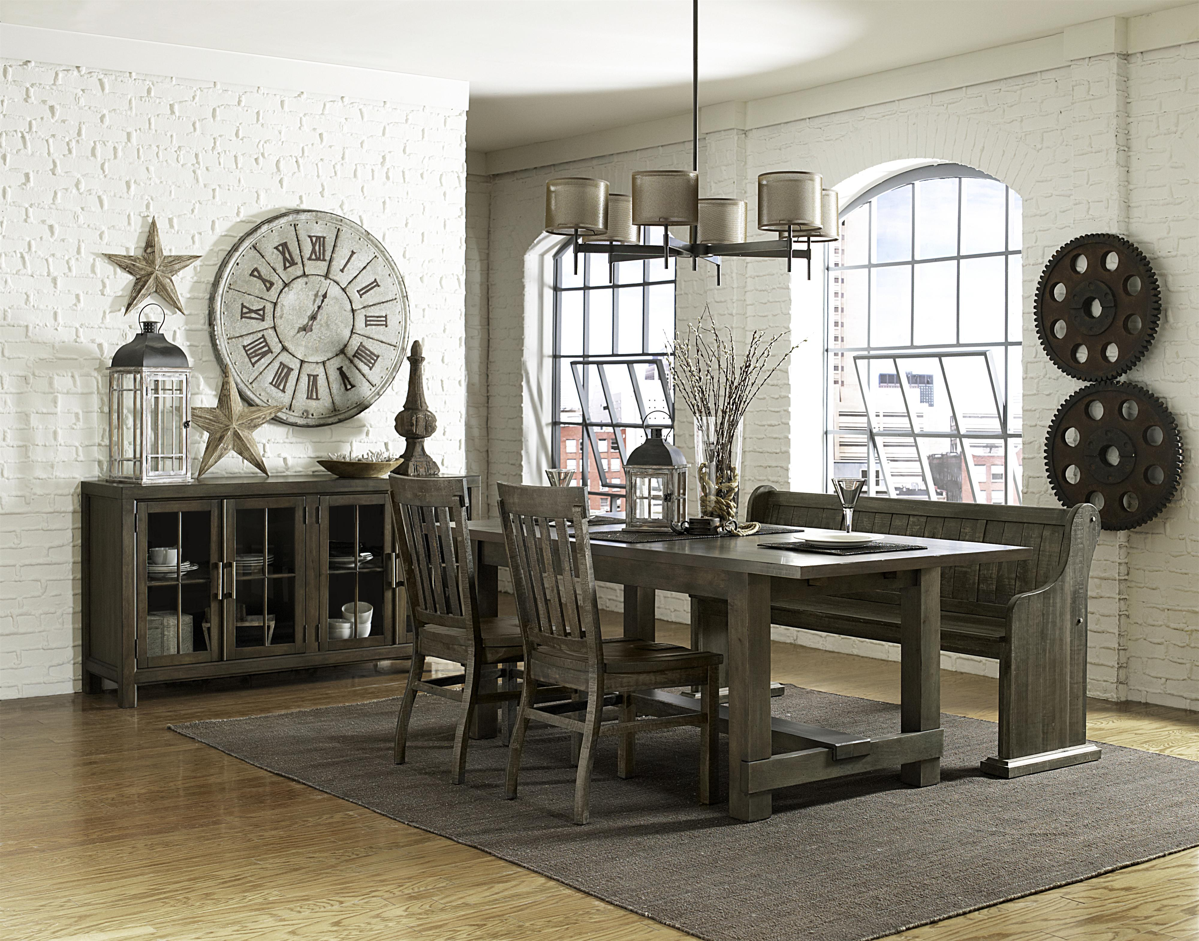 Magnussen Home Karlin Casual Dining Room Group - Item Number: D2471 Dining Room Group 4