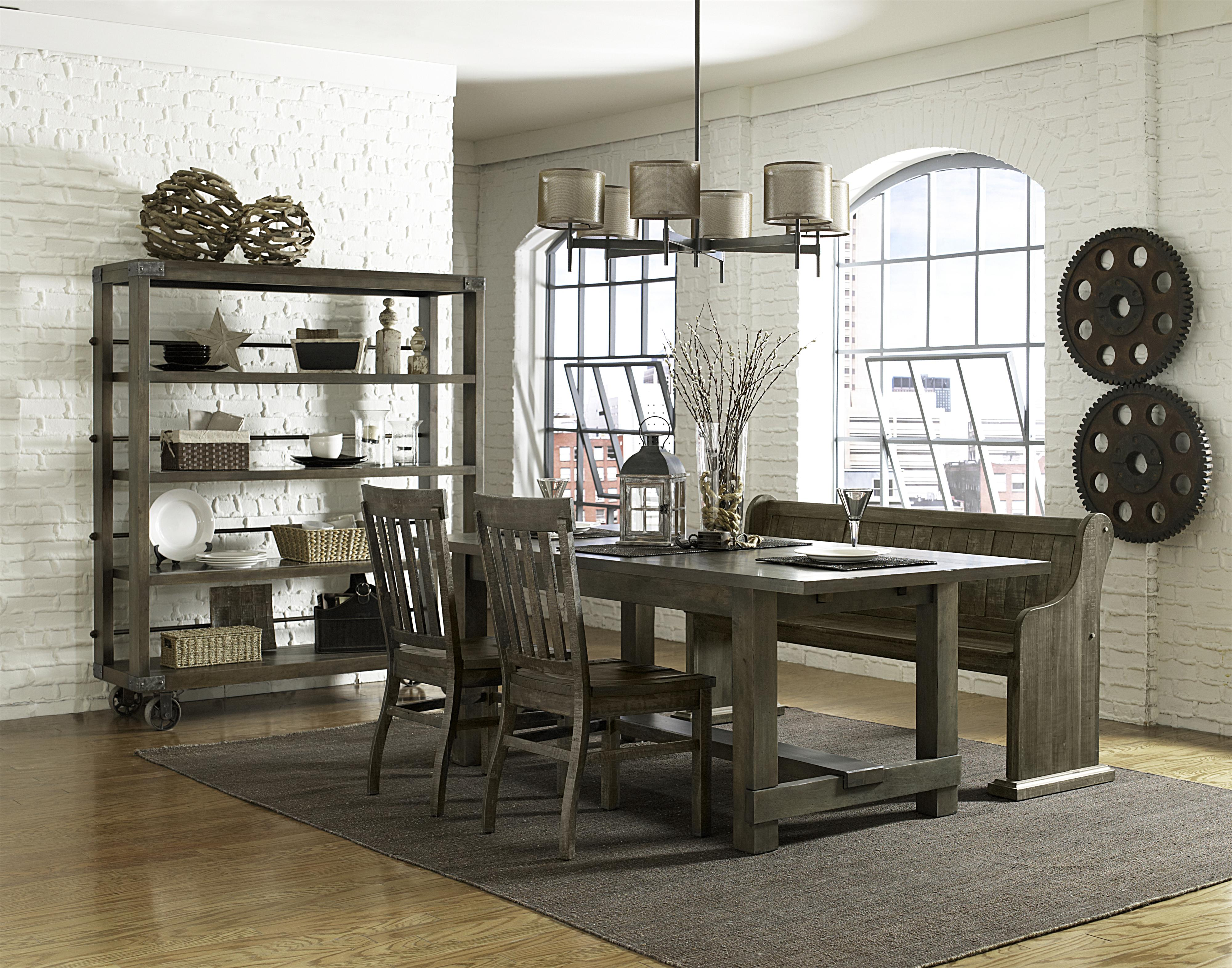 Magnussen Home Karlin Casual Dining Room Group - Item Number: D2471 Dining Room Group 6