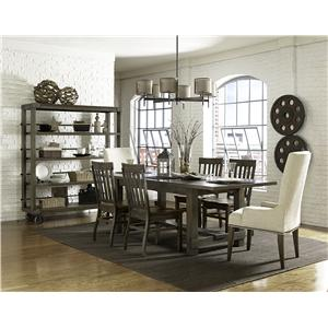Magnussen Home Karlin Rectangular Dining Table