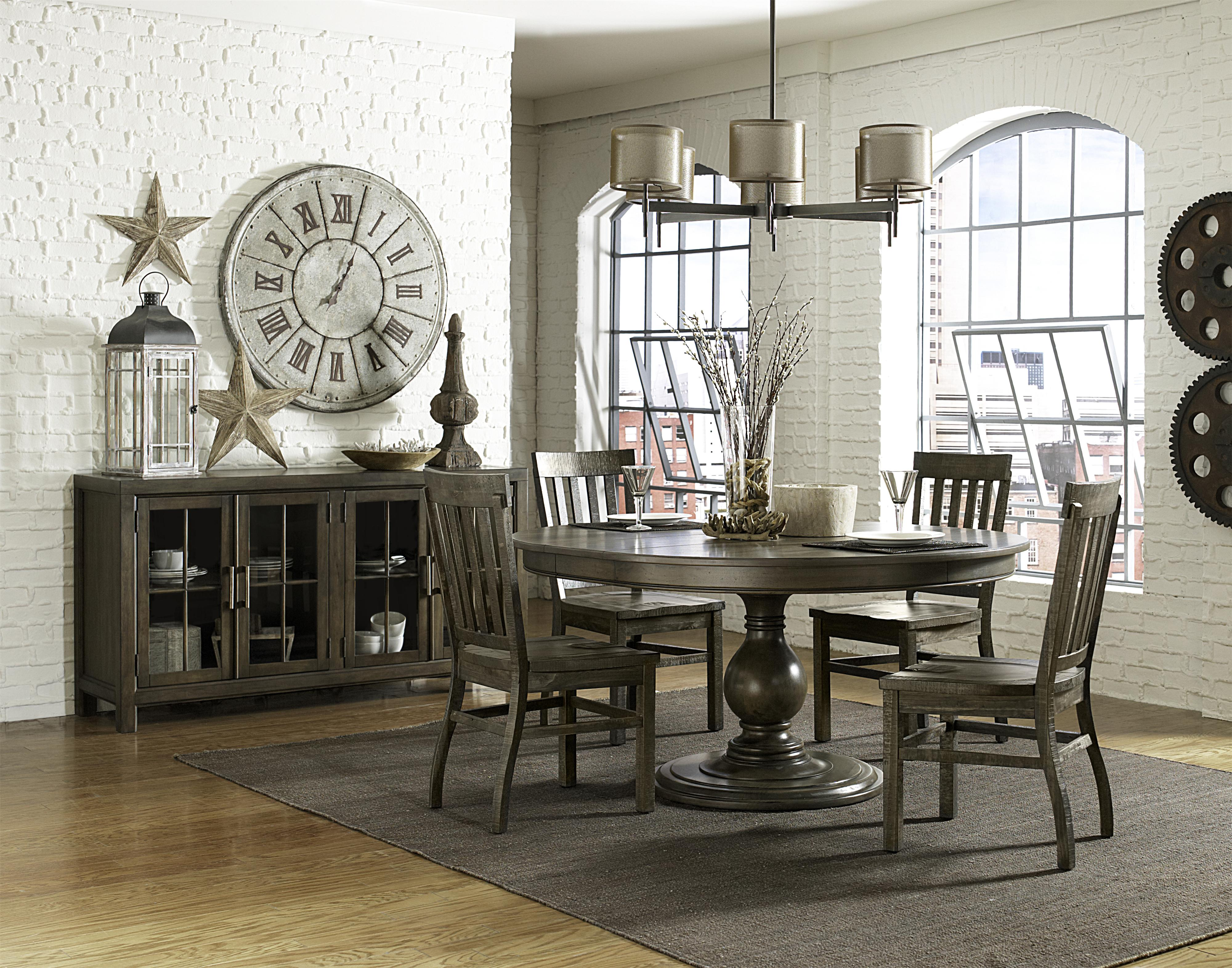 Magnussen Home Karlin Casual Dining Room Group - Item Number: D2471 Dining Room Group 7