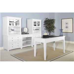 Magnussen Home Kentwood Credenza with File Storage and Power Strip