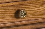 Simple Bronze Knob