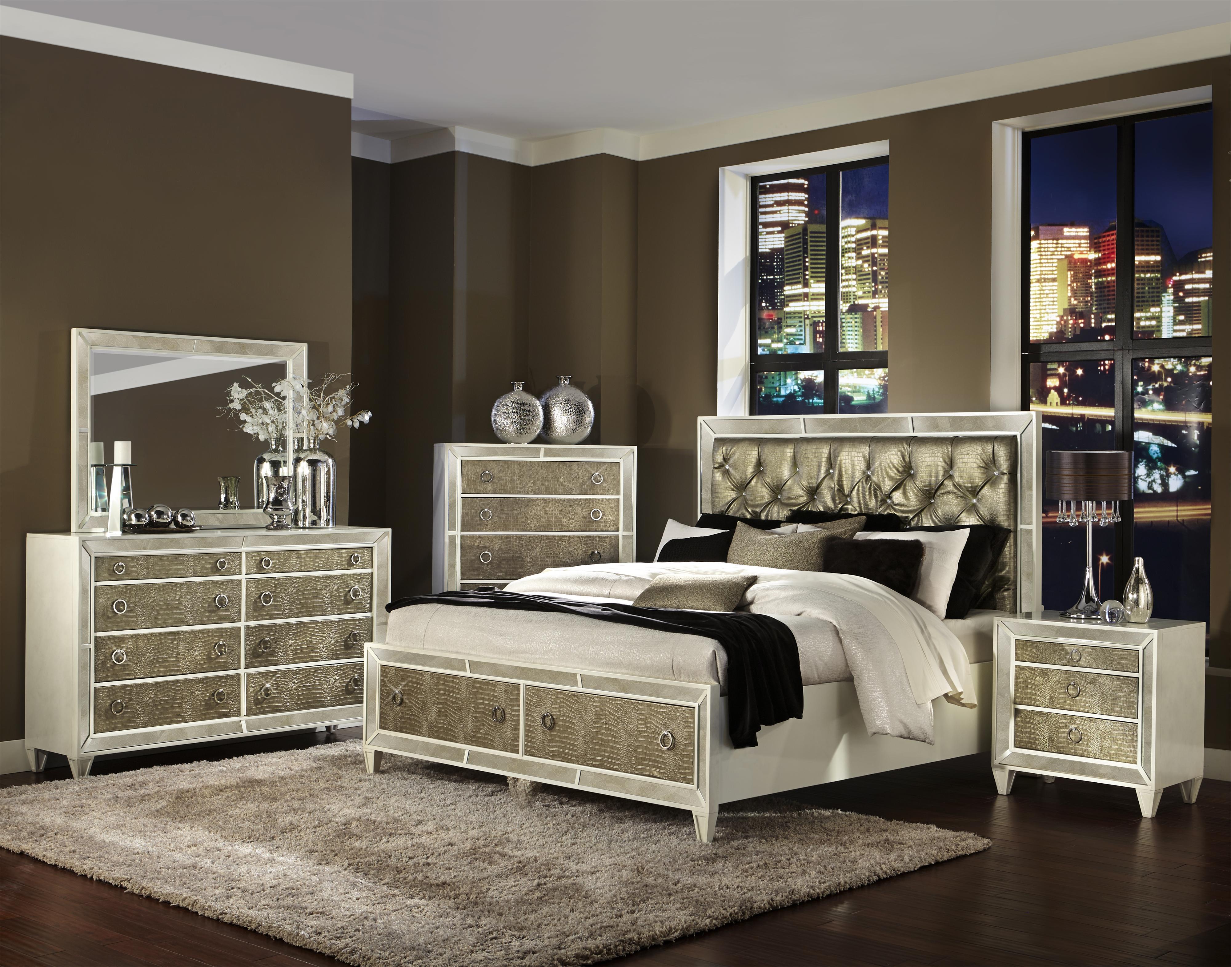 Magnussen Home Monroe King Bedroom Group Conlin39s Furniture