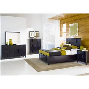 Magnussen Home Nova King bed with storage footboard