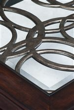 Swirling Metal Spiral Decorative Tops