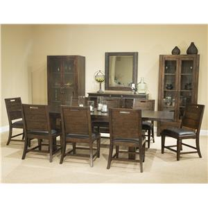 Magnussen Home Pine Hill Formal Dining Room Group 2