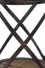 Rustic Iron Legs