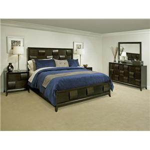 Magnussen Home Ribbons  Queen Bedroom Group with Storage