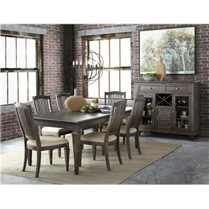Magnussen Home Sutton Place Formal Dining Room Group