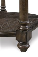 Classic Elegance Exudes from the Rich Carved Detailing of Victoria Tables