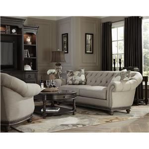 Magnussen Home Victoria Stationary Living Room Group