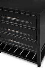 All Storage Cases Have Slatted Base Shelf