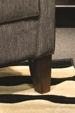 Tapered Wood Block Leg