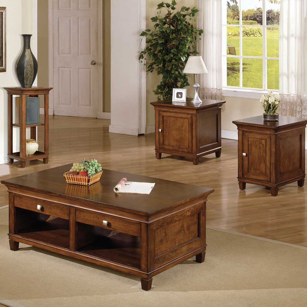 kathy ireland Home by Martin Bradley End Table Living Room Cabinet ...