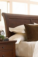 Panel Sleigh Headboard