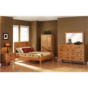 Rotmans Amish Wynwood Queen Bedroom Group