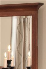 Mirrors Hold Beautifully Beveled Glass