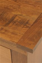 Handcrafted Solid Wood Construction with Three North American Hardwood Options