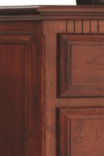 Molding Detailing Seen Throughout the Collection