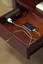 Nightstand with Power Charger