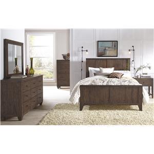 Modus International McKenzie King Bedroom Group