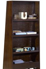 Mirror with Hidden Bookshelf Back