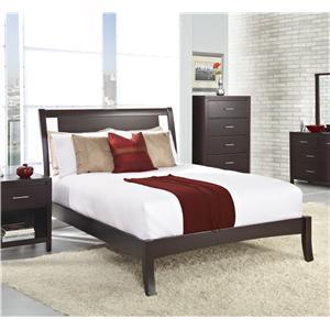 Modus International Nevis Queen Simple Platform Bed