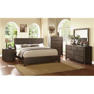 Modus International Portland King Bedroom Group