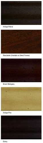 Custom Wood Finishes Available on Select Items