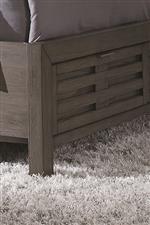 Storage Footboard Slat Details