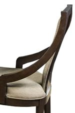 Fully Upholstered Sling Back Dining Side Chairs