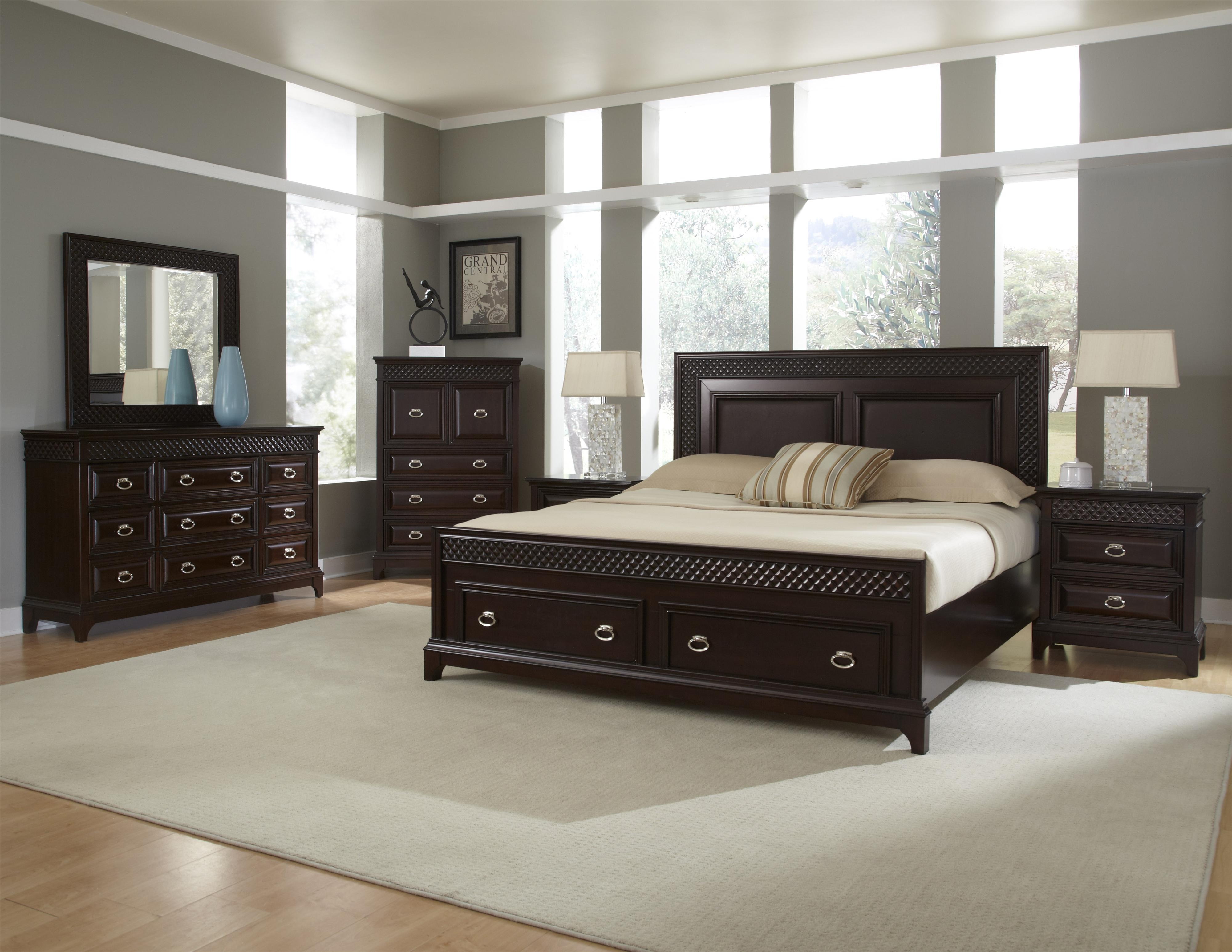 Najarian Sonoma Bedroom Group - Item Number: SON CK Bedroom Group 1