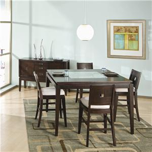 Najarian Spiga Formal Table w/ Leaf