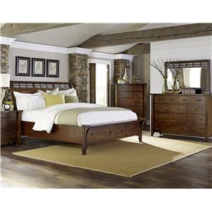 Napa Furniture Designs Whistler Retreat Queen Bedroom Group