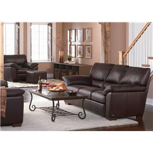 Natuzzi Editions B632 Stationary Living Room Group