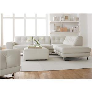 Natuzzi Editions B636 Stationary Living Room Group