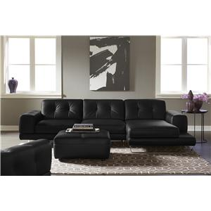 Natuzzi Editions B636 Stationary Living Room Group