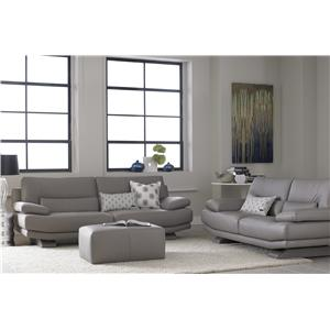 Natuzzi Editions B803 Stationary Living Room Group