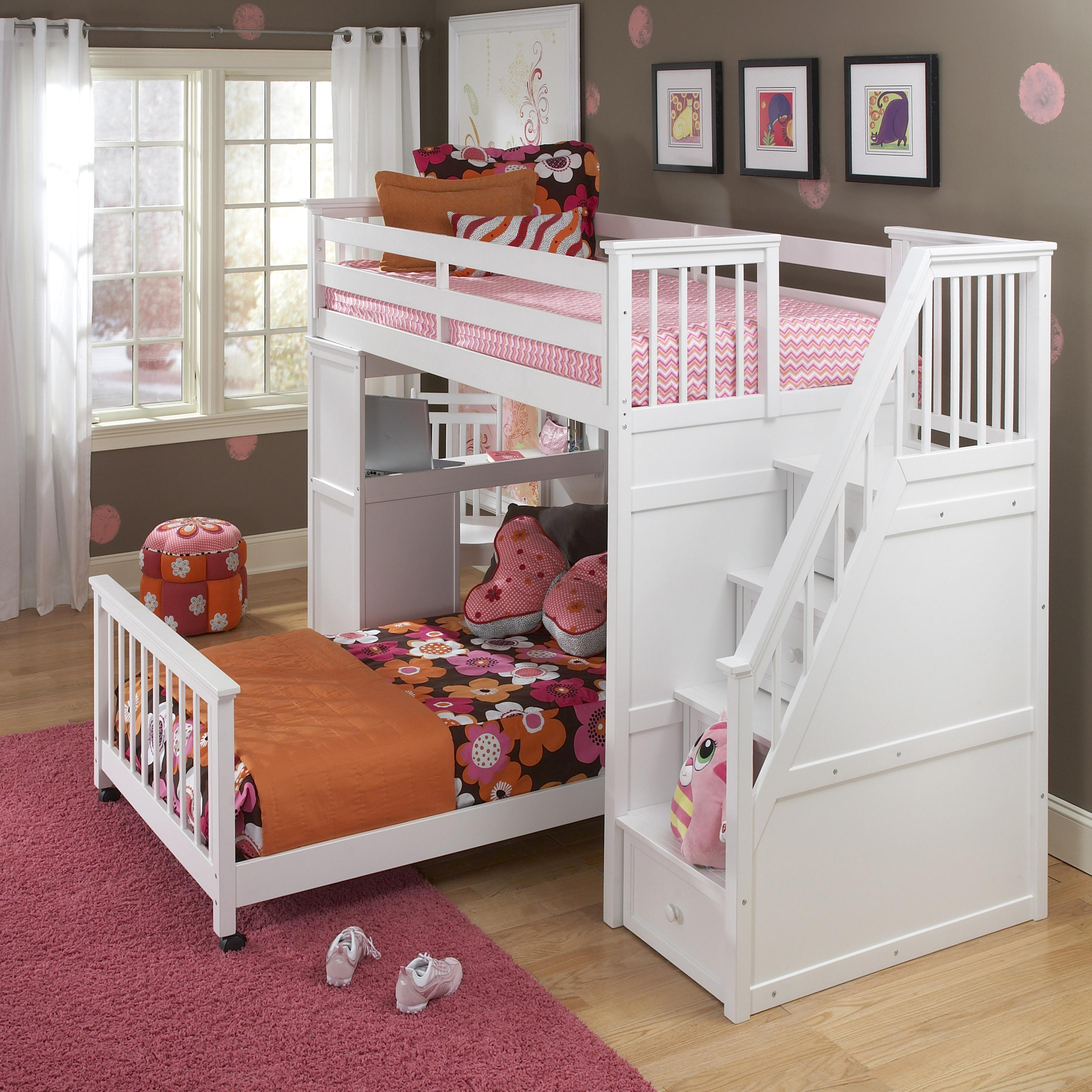 New Loft Bed with Pull Out Bed
